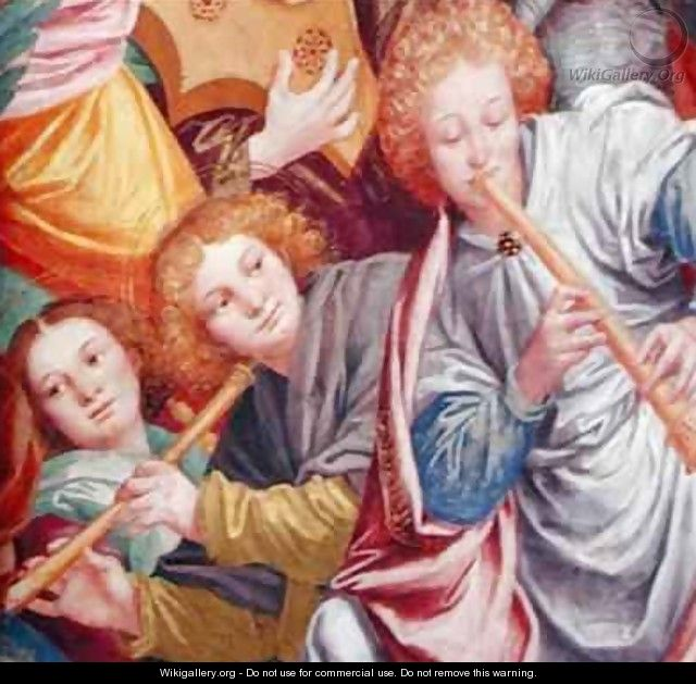 The Concert of Angels 22 - Gaudenzio Ferrari