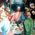 The Last Supper detail of Christ - Gaudenzio Ferrari