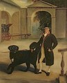 Mr Pares Coachman with Newfoundland Dog - John Ferneley, Snr.