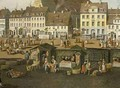 The New Market in Berlin with the Marienkirche - Carl Traugott Fechhelm
