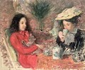 Tea Time - Emile Alfred Dezaunay
