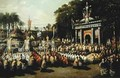 Procession of the Holy Sacrament - Antoine Detrez