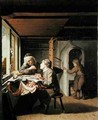 A Watchmaker and his Apprentice - Olivier van Deuren
