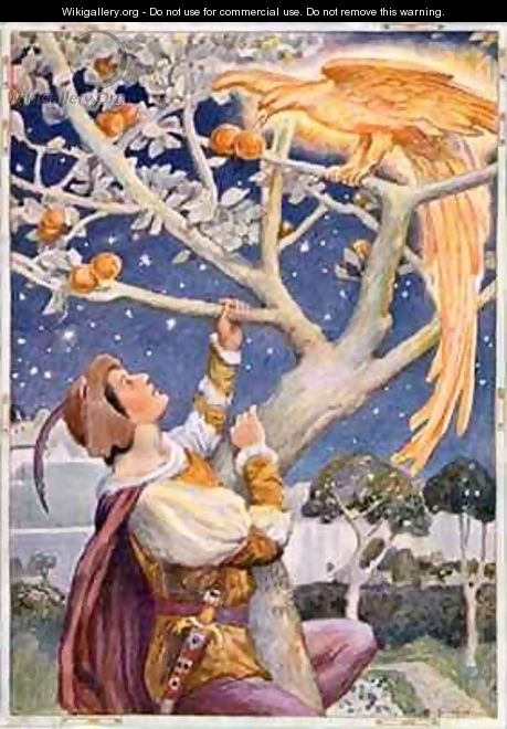The Glowing Bird was Plucking the Golden Apples - Arthur A. Dixon
