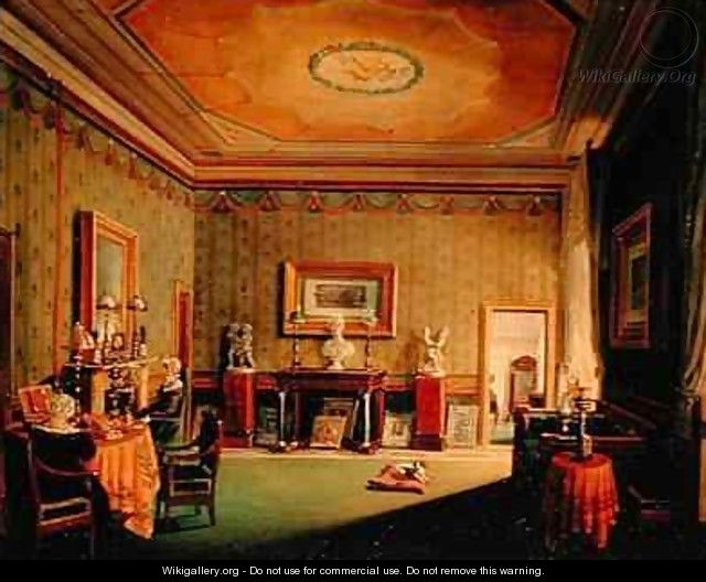 Salon in the Barbierrini House - Francesco Diofebi