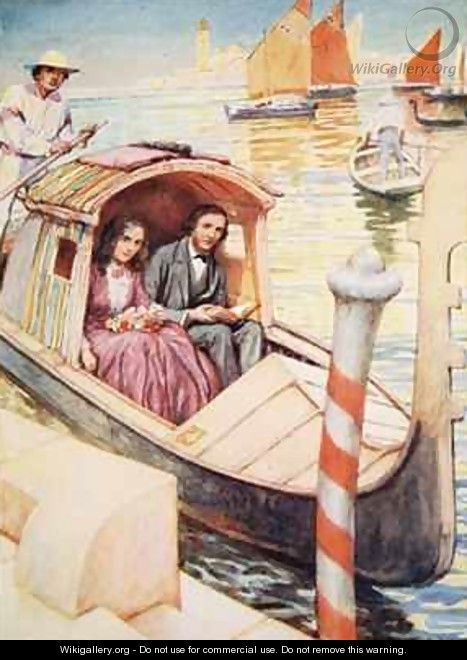 The Brownings in Venice - Arthur A. Dixon