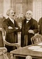 Paderewskis meeting with Clemenceau at the Paris Peace Conference in 1919 - Arthur A. Dixon