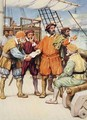Magellan consults with his navigators - Arthur A. Dixon