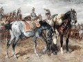 A Troop of French Cuirassiers - Wilhelm Von Diez