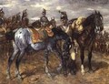 Cavalry on Parade - Wilhelm Von Diez