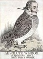 Absolute Wisdom or Queens Owl Taken from a Wood - Richard Dighton