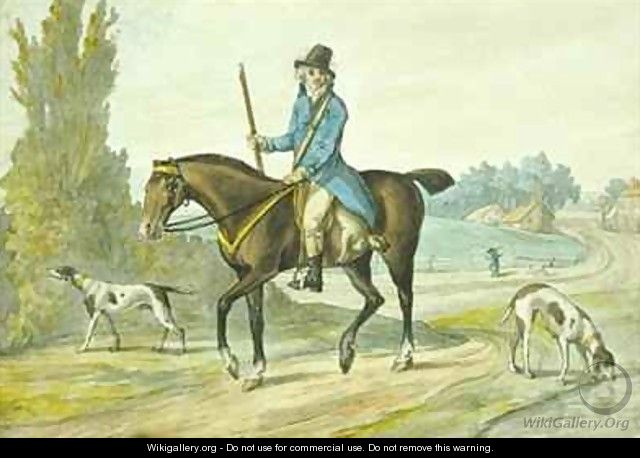 The Return from the Sports of the Field - Robert Dighton