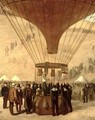 The Departure of Leon Michel Gambetta 1838-82 in the Balloon LArmand Barbes - Jules & Guiaud, Jacques Didier