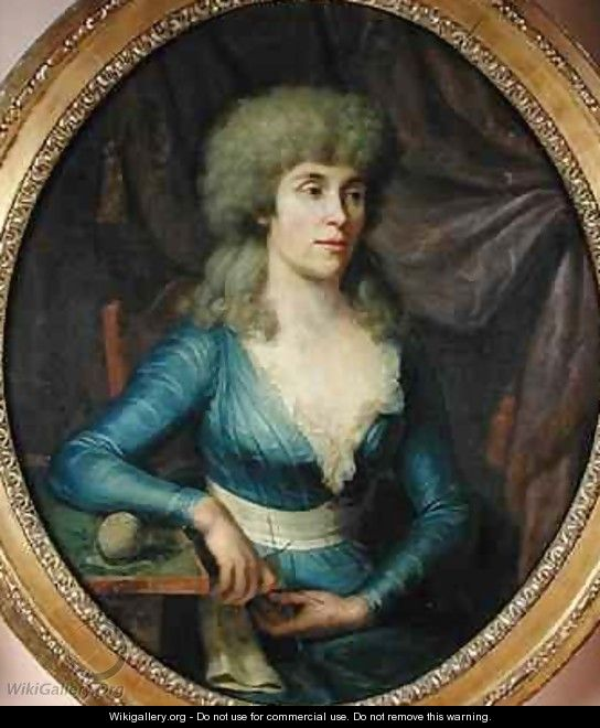 Portrait of Madame Lepage - Dominique (Guillaume Dominique Jacques) Doncre