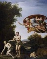 The Expulsion of Adam and Eve - Domenichino (Domenico Zampieri)
