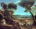 Landscape with St George and the Dragon - Domenichino (Domenico Zampieri)