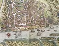 Map of the City and Portuguese Port of Goa India 2 - Johannes Baptista van, the Younger Doetechum