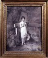 Portrait of Miss Caroline Foster Barham - John Downman