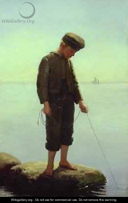 The Young Fisherman - Anton Laurids Johannes Dorph