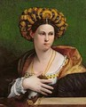 Portrait of a Roman Woman - Dosso Dossi (Giovanni di Niccolo Luteri)
