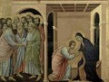 Maesta The Virgin Says Farewell to St John - Buoninsegna Duccio di