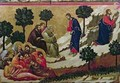 Maesta Agony in the Garden of Gethsemane - Buoninsegna Duccio di