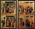 Maesta eleven scenes from the Passion 3 - Buoninsegna Duccio di