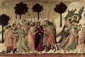 Maesta Betrayal of Christ - Buoninsegna Duccio di