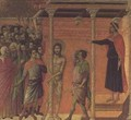 The Flagellation Altarpiece - Buoninsegna Duccio di