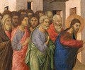 Jesus Opens the Eyes of a Man Born Blind 3 - Buoninsegna Duccio di
