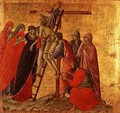 Maesta Descent from the Cross - Buoninsegna Duccio di