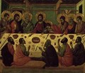 The Last Supper from the Passion Altarpiece - Buoninsegna Duccio di