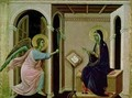 Angel Announcing the Death of Our Lord to Mary - Buoninsegna Duccio di