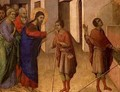 Jesus Opens the Eyes of a Man Born Blind - Buoninsegna Duccio di