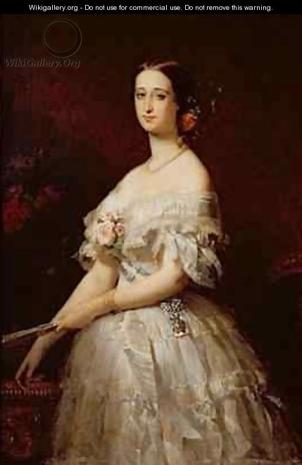 Empress Eugenie - Claude-Marie Dubufe
