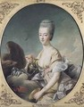 The Dauphiness Marie Antoinette 1755-93 as Hebe - Francois-Hubert Drouais