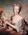 Portrait of the Countess du Barry 1743-93 as Flora - Francois-Hubert Drouais