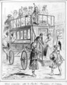 Bus service between the Comedie Francaise and the Odeon - Renard Jules Draner