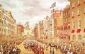 Wedding Procession of Edward Prince of Wales and Princess Alexandra Driving through the City at Temple Bar - Robert Dudley