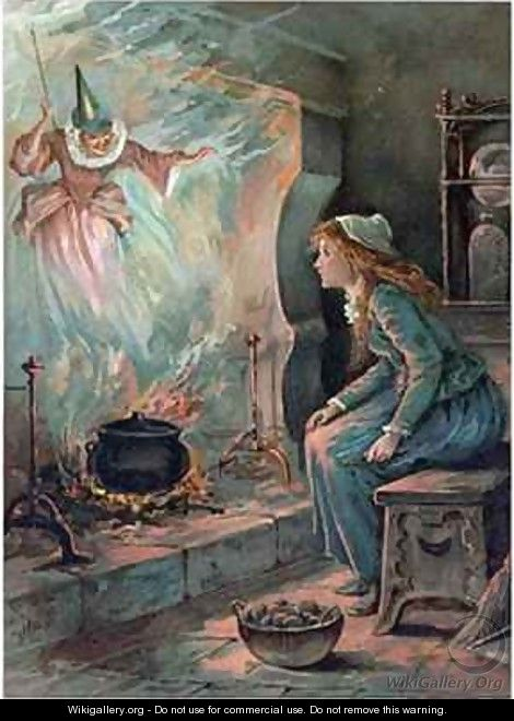 Cinderella and the Fairy Godmother - Ambrose Dudley