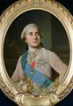 Portrait medallion of Louis XVI 1754-93 - (after) Duplessis, Joseph-Siffrede