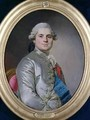 Portrait of Louis of France 1755-1824 Count of Provence future King Louis XVIII - Joseph Siffrein Duplessis