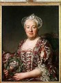 Portrait of Madame Denis 1712-90 - Joseph Siffrein Duplessis