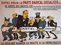 Electoral poster for the Radical Socialist Party 2 - Pierre Dukercy
