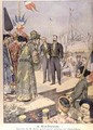 Arrival in Saigon of Paul Beau 1857-1927 Governor General of Indo China 1902-07 - Charles Georges Dufresne