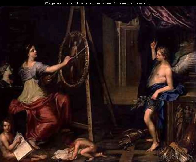 Allegory of Painting - Charles Alphonse Dufresnoy