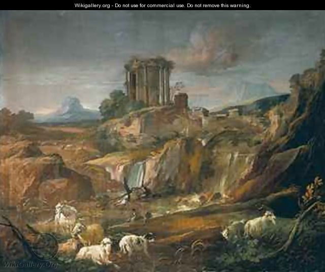 Landscape with Ruins - Gaspard Dughet