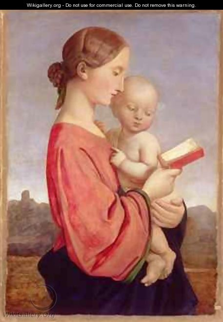 Virgin and Child - William Dyce