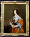 Portrait of Queen Henrietta Maria 1609-69 2 - (after) Dyck, Sir Anthony van