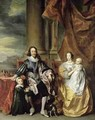 King Charles I 1600-49 and his Family - (after) Dyck, Sir Anthony van